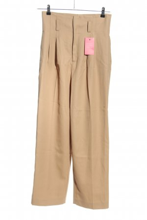 H&M Bundfaltenhose wollweiß Casual-Look