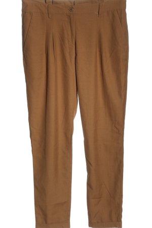 H&M Pantalón de pinza marrón look casual