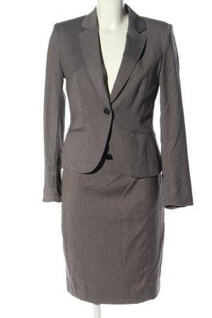 H&M Costume business gris clair moucheté style d'affaires