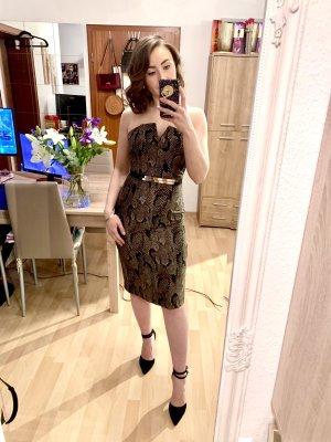 H&M Sukienka gorsetowa Wielokolorowy