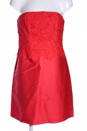 H&M Bustier Dress red elegant