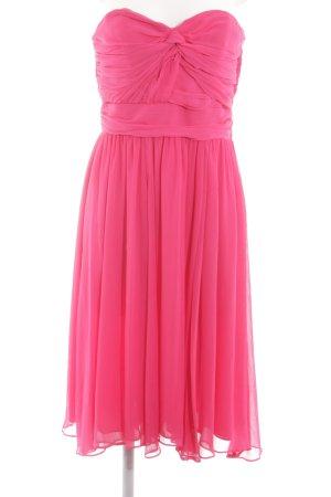 H&M Abito bustier rosa elegante