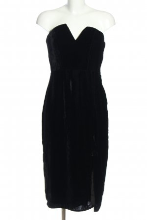 H&M Robe bustier noir élégant