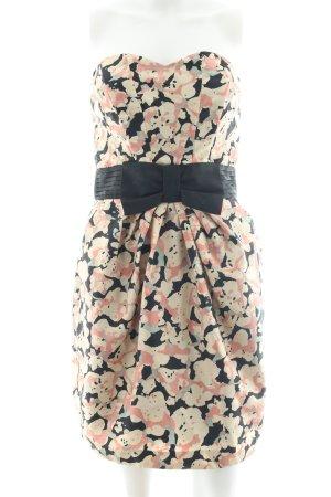H&M Robe bustier motif abstrait élégant