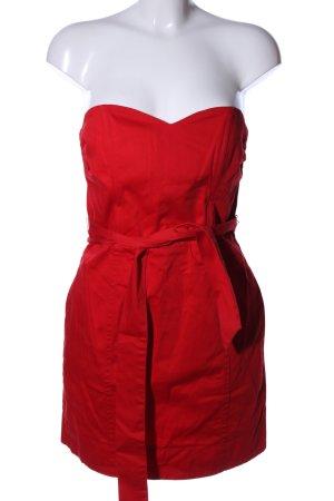 H&M Bustierkleid rot Elegant