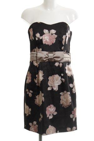 H&M Sukienka gorsetowa Wzór w kwiaty Elegancki