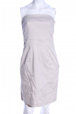 H&M Bustier Dress natural white business style