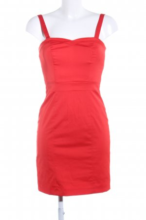 H&M Robe bustier rouge style décontracté