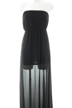 H&M Bustierkleid schwarz Elegant