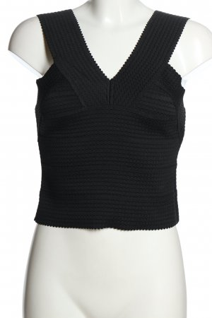H&M Bustier Top black casual look