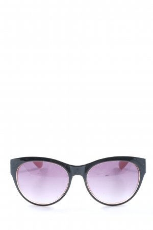H&M Butterfly Glasses black-lilac casual look