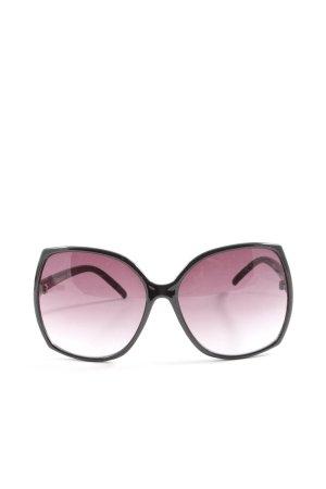 H&M Okulary motylki czarny-różowy W stylu casual