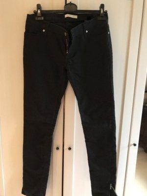H&M by Madonna Skinny Jeans schwarz Größe 38 / W29