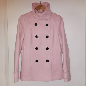 H&M Pea Jacket light pink-pink