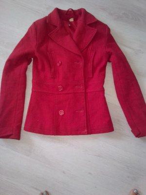 H&M Vareuse rouge coton
