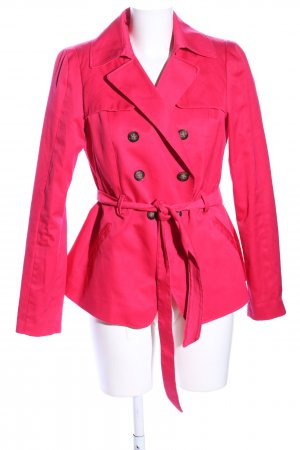 H&M Pea Jacket red casual look