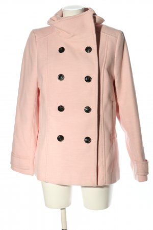 H&M Pea Jacket pink casual look
