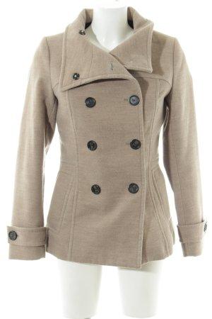 H&M Marynarska kurtka beżowy Styl klasyczny
