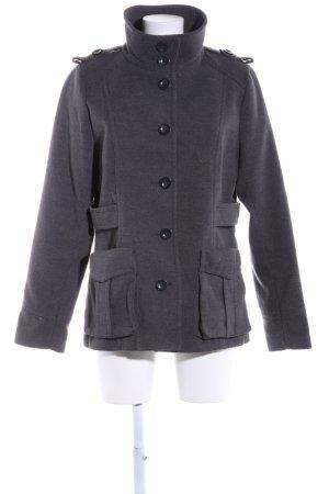 H&M Marynarska kurtka jasnoszary Melanżowy W stylu casual