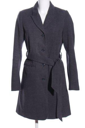 H&M Pilotenjas lichtgrijs gestippeld zakelijke stijl