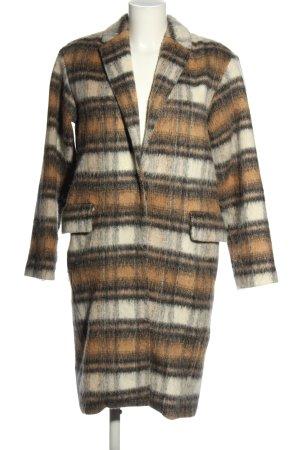 H&M Heavy Pea Coat striped pattern casual look