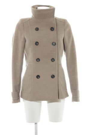 H&M Heavy Pea Coat beige classic style
