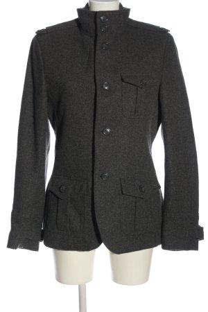 H&M Abrigo de piloto gris claro moteado look casual