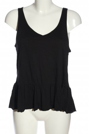 H&M Camisole zwart casual uitstraling