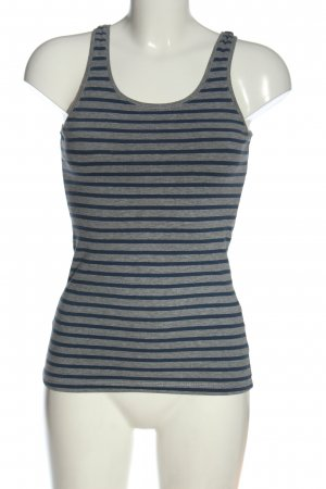 H&M Camisola gris claro-azul moteado look casual