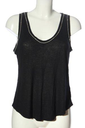 H&M Camisola negro look casual