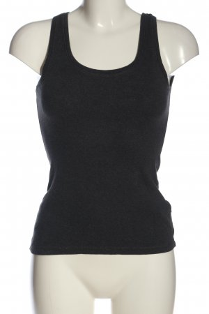 H&M Podkoszulek na ramiączkach jasnoszary Melanżowy W stylu casual
