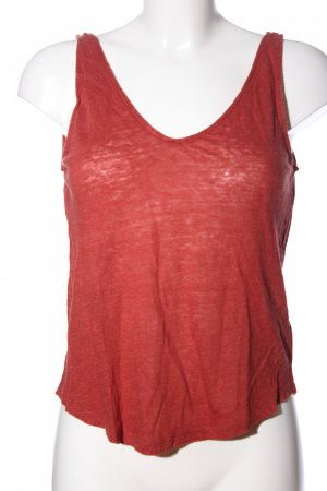 H&M Camisole rood gestippeld casual uitstraling