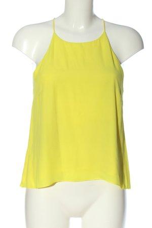 H&M Camisole jaune primevère style décontracté