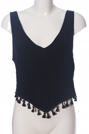 H&M Camisole blau Casual-Look