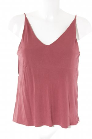 H&M Camisola rojo oscuro look casual