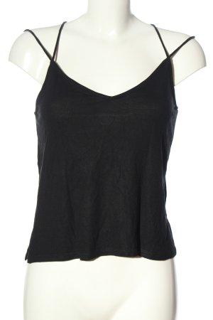 H&M Camisole schwarz Casual-Look