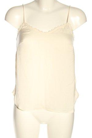 H&M Camisole blanc cassé style décontracté
