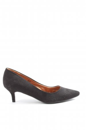 H&M Zapatos Oxford con puntera negro estilo «business»