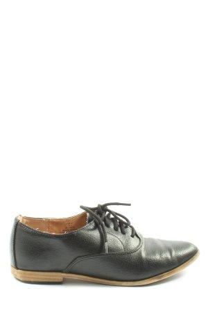 H&M Cap Toes zwart zakelijke stijl