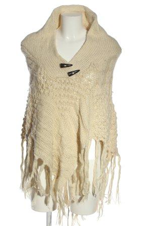 H&M Peleryna w kolorze białej wełny W stylu casual
