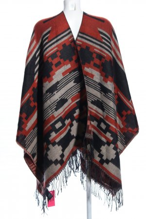 H&M Cape Allover-Druck Casual-Look