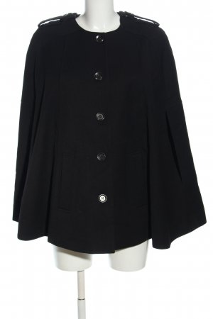 H&M Cape black casual look
