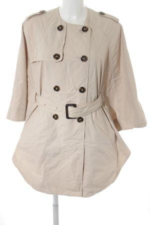 H&M Cape creme Casual-Look
