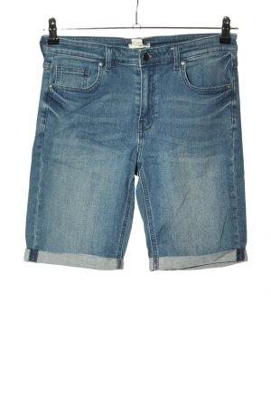 H&M Caprihose blau Casual-Look