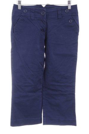 H&M Caprihose dunkelblau Casual-Look