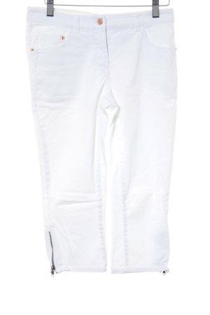 H&M Caprihose weiß Casual-Look