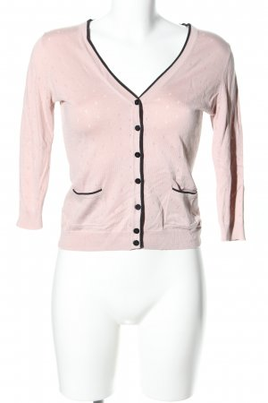 H&M Cardigan pink grafisches Muster Casual-Look