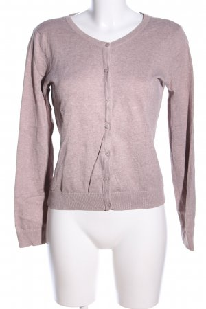 H&M Cardigan pink flecked business style