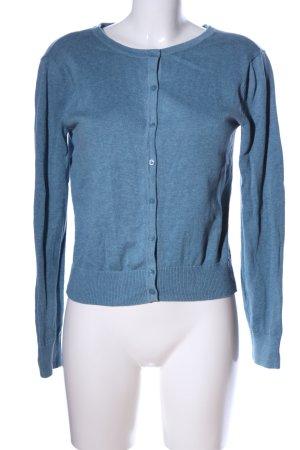 H&M Cardigan blau meliert Casual-Look