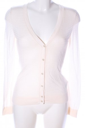 H&M Cardigan creme Allover-Druck Casual-Look